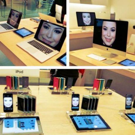 """Nhung hinh anh """"kho do"""" chi co tai cua hang Apple Store - Anh 2"""