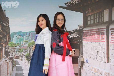 Gioi tre Ha Noi mac hanbok, thu do an duong pho Han Quoc - Anh 10
