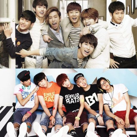 Infinite, B1A4 bi nhan vien nu dung cham cho kin - Anh 5