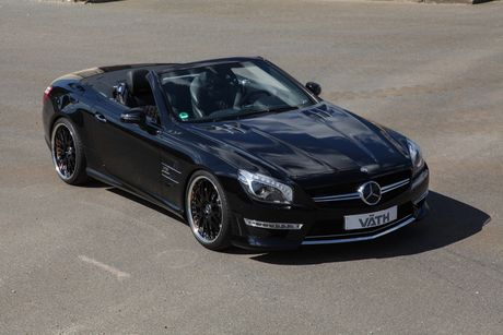 'Phu phep' chiec Mercedes-Benz SL65 manh ngang ngua Aventador - Anh 3