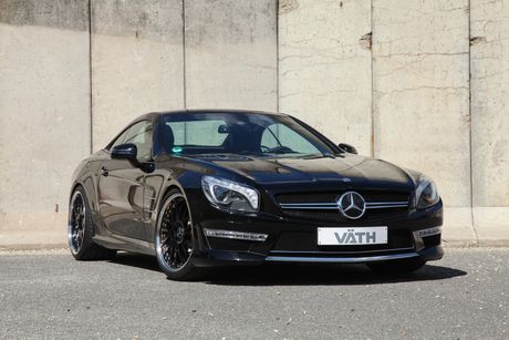 'Phu phep' chiec Mercedes-Benz SL65 manh ngang ngua Aventador - Anh 4