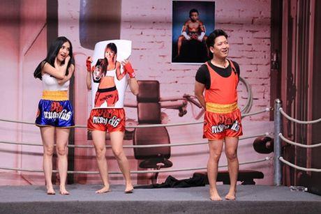 Clip: Mai Ho bi Truong Giang 'ep' qua dang khien Hoai Linh xot xa - Anh 1