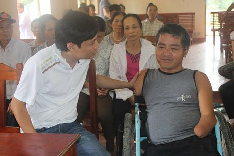 Huyen Vu Quang cam on bao DS&PL da ung ho nguoi dan vung lu - Anh 3