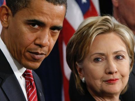 Chinh quyen ong Obama 'doi gao nuoc lanh' vao ba Clinton - Anh 1