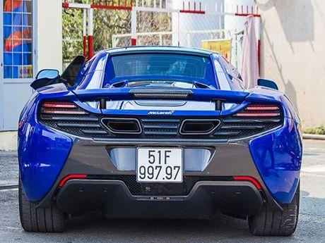 Dai gia Minh Nhua dang ky bien so 'doc' cho sieu xe McLaren 650S - Anh 1