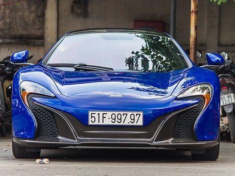 Dai gia Minh Nhua dang ky bien so 'doc' cho sieu xe McLaren 650S - Anh 2
