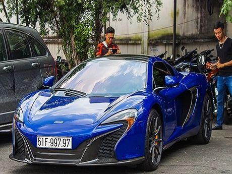 Dai gia Minh Nhua dang ky bien so 'doc' cho sieu xe McLaren 650S - Anh 3