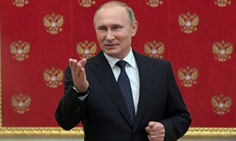 Ong Putin chien thang - Anh 1
