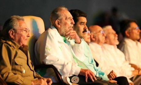 Sinh nhat cuoi cung cua cuu chu tich Cuba Fidel Castro - Anh 1