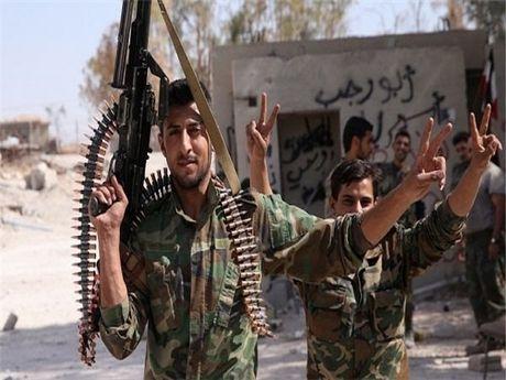 Luc luong Syria sap giai phong hoan toan quan chien luoc Hanano o Aleppo - Anh 1