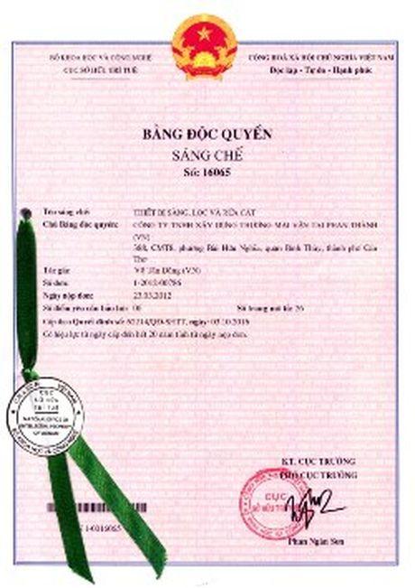 Doanh nhan sang che cong nghe che bien cat sach dau tien cua Viet Nam - Anh 3