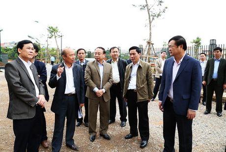 Thai Nguyen: Hoc tap kinh nghiem xay dung khu hanh chinh tai tinh Quang Ninh - Anh 1