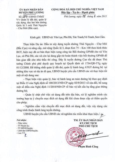 Doanh nghiep cung bat tay 'xe thit' taluy duong duong Thai Nguyen-Cho Moi - Anh 2
