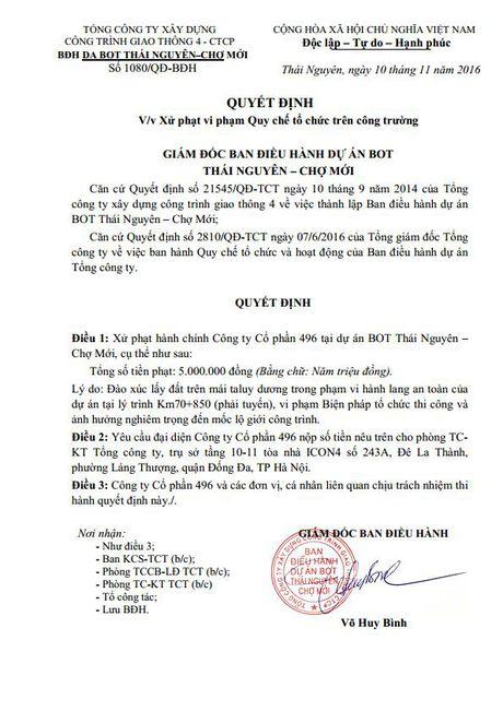 Doanh nghiep cung bat tay 'xe thit' taluy duong duong Thai Nguyen-Cho Moi - Anh 3
