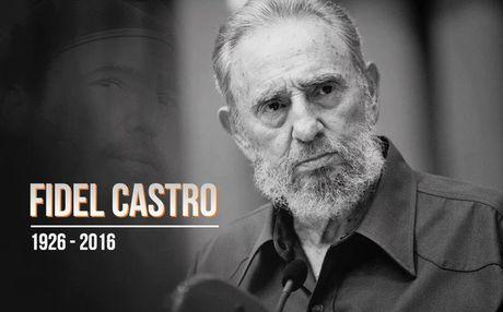 Huyen thoai Fidel Castro qua doi: 'Lich su se ghi nhan suc anh huong to lon cua ong' - Anh 1
