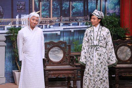 Hoai Linh het loi khen Truc Nhan vi 'chat dep' Tran Thanh - Anh 1