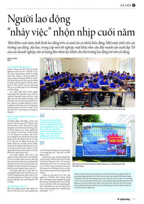 """Nguoi lao dong """"nhay viec"""" nhon nhip cuoi nam - Anh 3"""