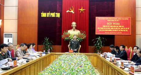 Ban Chi dao TU ve Phong, chong tham nhung cong bo ket luan kiem tra tai Phu Tho - Anh 1