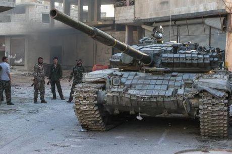 'Ho Syria' don dap tan cong phien quan o dong Aleppo - Anh 1