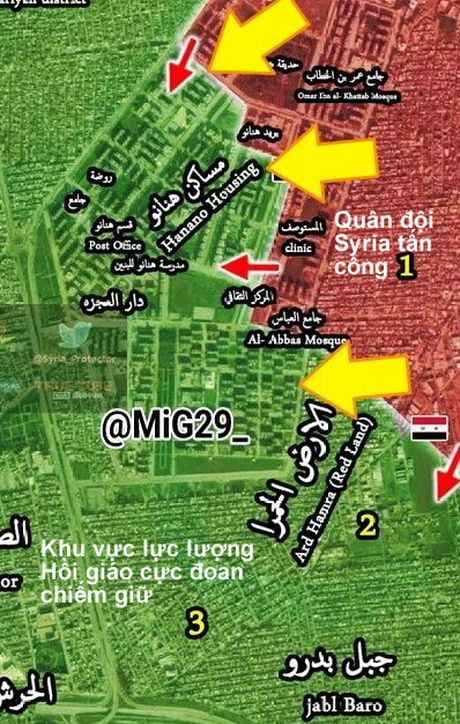 'Ho Syria' don dap tan cong phien quan o dong Aleppo - Anh 2