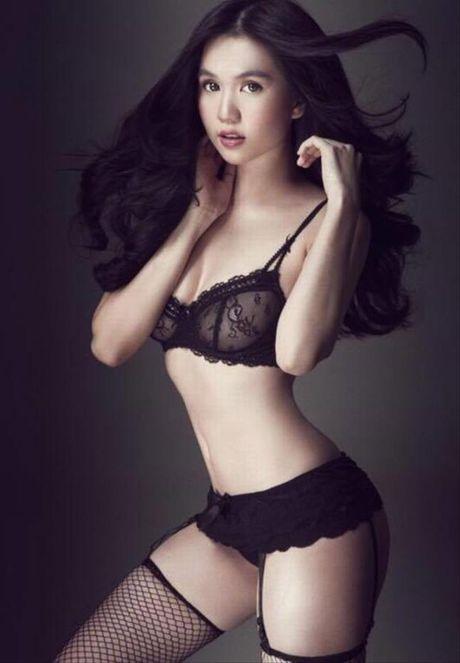Nhung buc anh bi photoshop qua da cua Ngoc Trinh - Anh 2