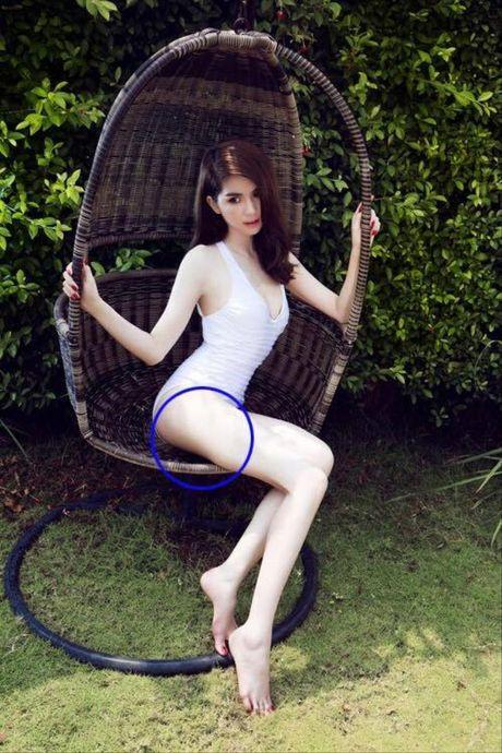 Nhung buc anh bi photoshop qua da cua Ngoc Trinh - Anh 4