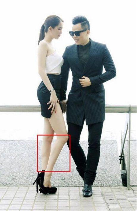 Nhung buc anh bi photoshop qua da cua Ngoc Trinh - Anh 6