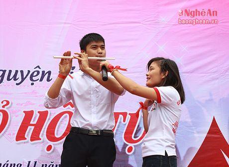 Chu nhat soi dong cung Sac do hoi tu Dai hoc Y Khoa Vinh - Anh 8