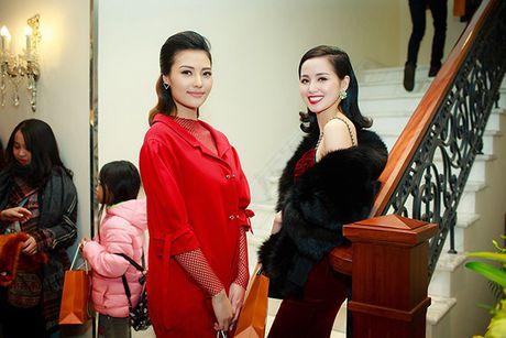 Hong Que giam 9kg sau 1 thang sinh con, Tam Tit sexy het co giua troi lanh - Anh 9