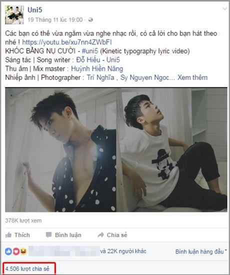 Mung ca khuc moi 'gay bao', fan Uni5 danh qua bat ngo tang than tuong - Anh 2