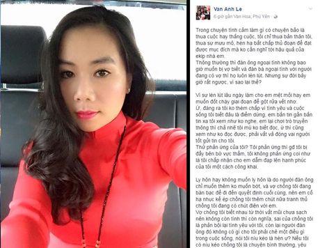 Vo 'dai gia kim cuong' bong gio chuyen co y lo anh chong tinh tu ben Ha Ho de ep ly hon - Anh 1