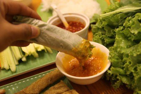 Nem nuong chuan vi Nha Trang o Ha Noi - Anh 2