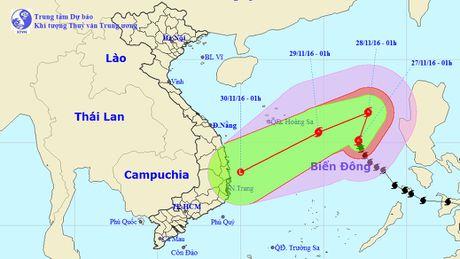 Bao so 9 ap sat vung bien cac tinh nam Trung Bo - Anh 1