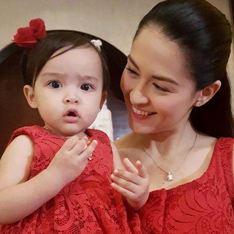 My nhan dep nhat Philippines rang ro trong sinh nhat con gai - Anh 3