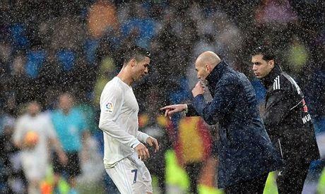 Real Madrid 2-1 Sporting Gijon: Sap trao Bong vang, Ronaldo 'no sung' tung bung - Anh 4