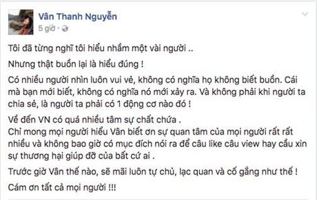 Van Hugo len tieng dap lai nghi van chia se benh tinh vi muc dich cau like, cau view - Anh 2