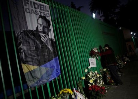 Du luan the gioi tiec thuong Lanh tu Cuba Fidel Castro - Anh 3