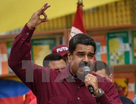 Tong thong Venezuela tuyen bo khong de phe doi lap roi bo dam phan - Anh 1