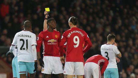 Man United mat ca Pogba lan Fellaini o tran tai dau West Ham - Anh 1