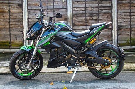 Yamaha FZ150i 'bien hinh' naked-bike khung tai Sai Gon - Anh 1