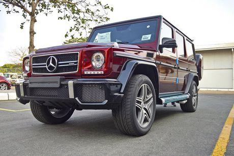 Can canh Mercedes- Benz G63 AMG do khung nhat VN - Anh 3
