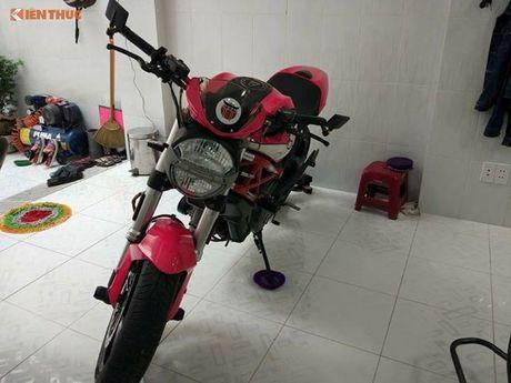 Ducati Monster 796 do Hello Kitty 'sieu cute' tai Viet Nam - Anh 1