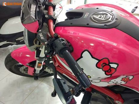 Ducati Monster 796 do Hello Kitty 'sieu cute' tai Viet Nam - Anh 3