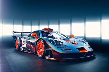 McLaren 'show hang' xe dua tram ty F1 GTR Longtail - Anh 1