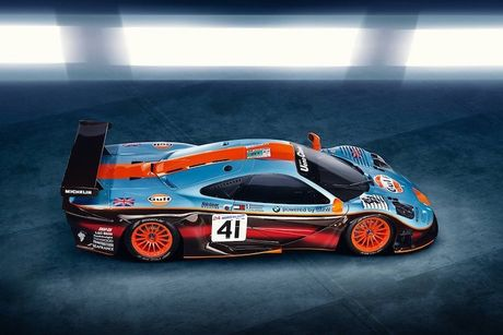 McLaren 'show hang' xe dua tram ty F1 GTR Longtail - Anh 3