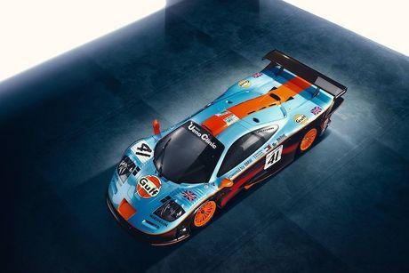 McLaren 'show hang' xe dua tram ty F1 GTR Longtail - Anh 6