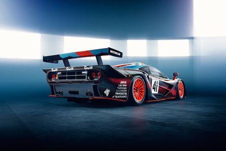 McLaren 'show hang' xe dua tram ty F1 GTR Longtail - Anh 7