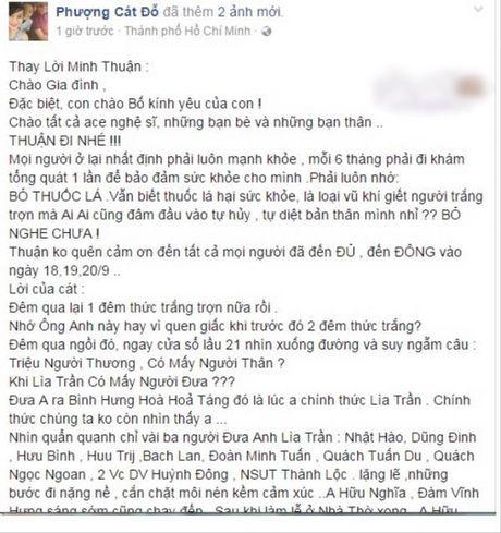 Chuyen la ve so dien thoai cua Minh Thuan bat ngo duoc su dung - Anh 4