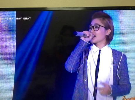 Ca si Vicky Nhung lam soi dong Sing my song - Anh 1