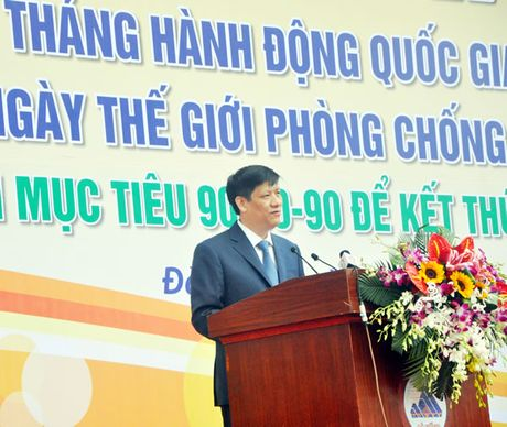Huong toi muc tieu ket thuc dai dich AIDS vao nam 2030 tai Viet Nam - Anh 1